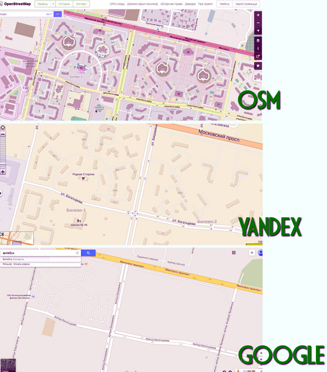 comparation of maps vertical 01