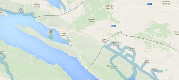 Даже гугль вью не заезжает в Боснию