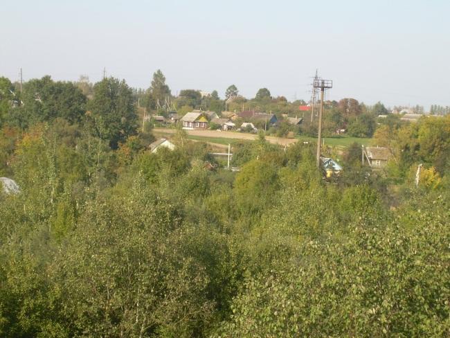 вид на деревню Гришаны