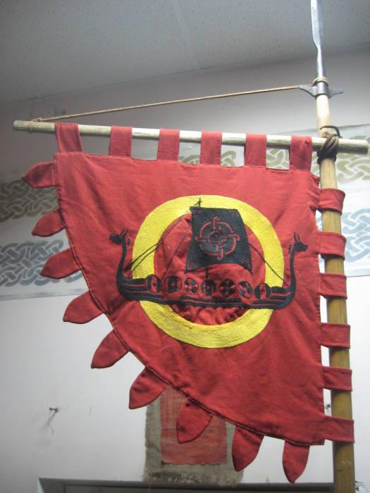 """Знамя клуба """"Нагльфар"""""""