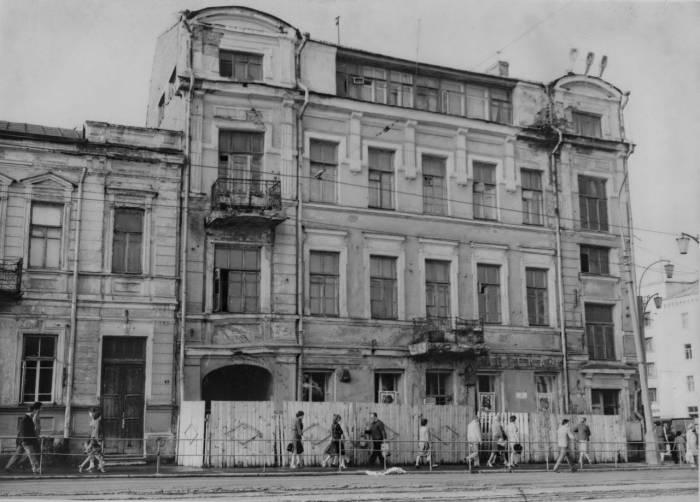 Здание знаменитой аптеки №1. Фото из группы «Таямніцы Віцебска»
