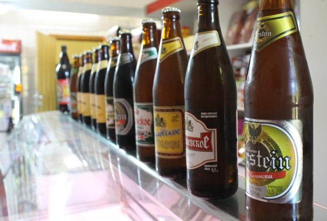 Фото Юрия Шепелева. В магазине живого пива.