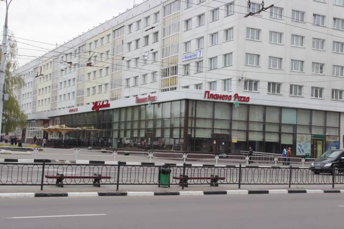 """На месте этого здания находился кинотеатр """"Заря"""""""