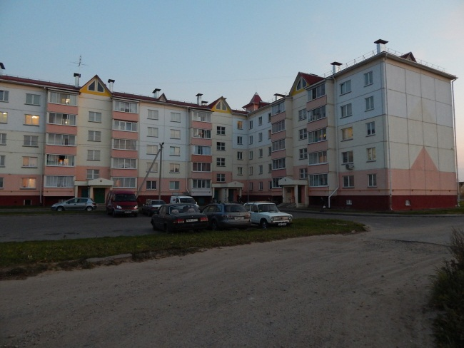 Здесь поселилась семья Сергея.