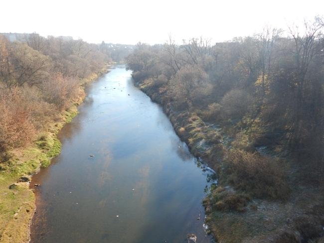 Лучеса. Вид с моста Шмырева.