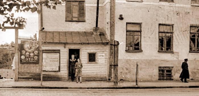 Здание фармацевтического факультета, 1950-е. Фото К.В. Дурихина
