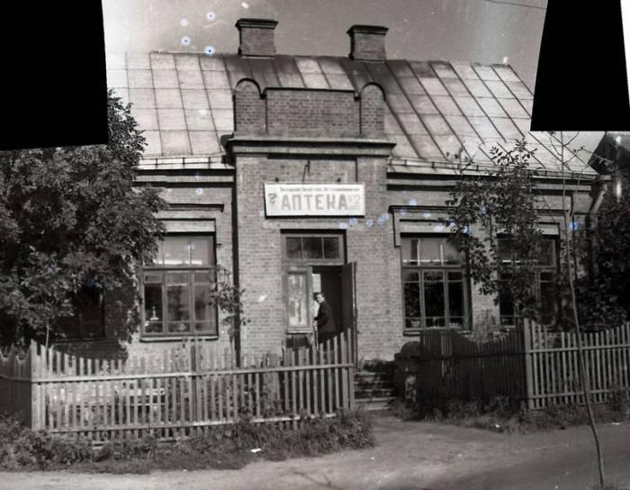 Аптека до 1956 года. Фото из группы «Таямніцы Віцебска»