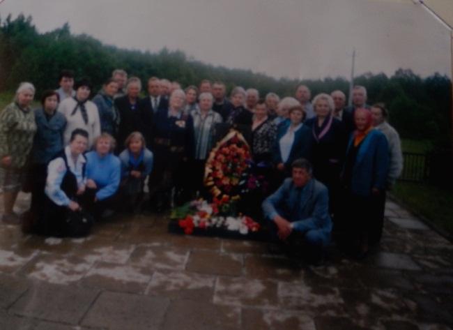 Встреча узников. 3 июня 2004 года.