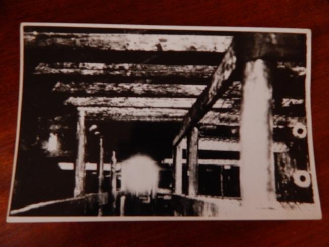 Фото лагеря смерти из архивов краеведческого музея.