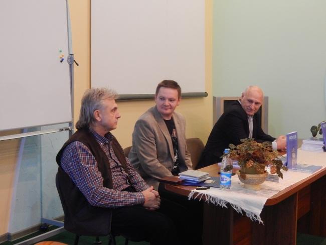 Барыс Пятровiч, Алесь Пашкевiч, Алесь КамоцкI.