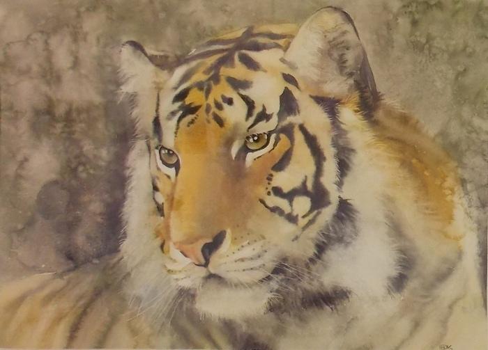Александр Карпан. Уссурийский тигр