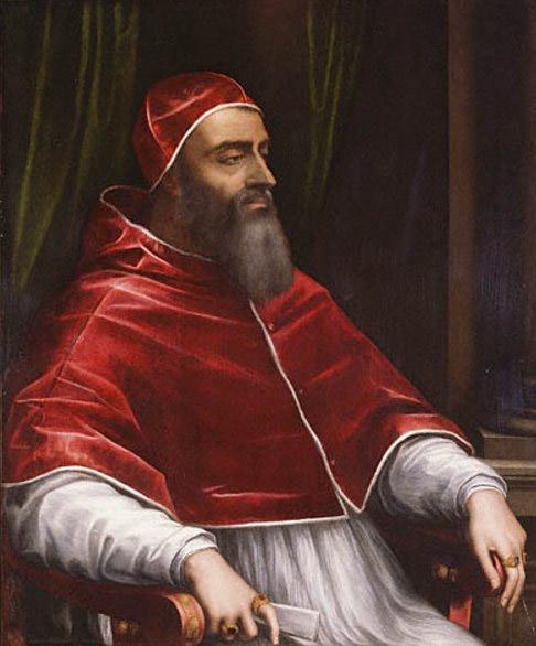 Это не Китай и не Франция, это Папа Римский Климент Седьмой, современник Генрикуса Восьмого