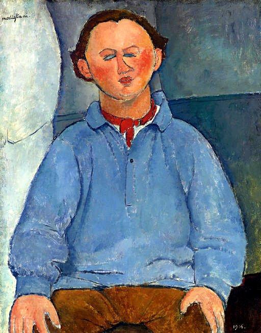 Modgliani_Portrait of Oscar Miestchaninoff