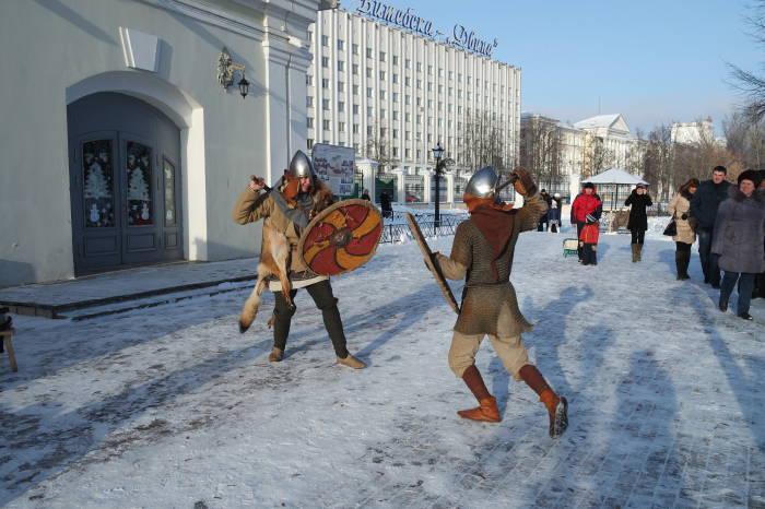 Ничто так не увлекало зрителей, как яростная битва скандинавских воинов