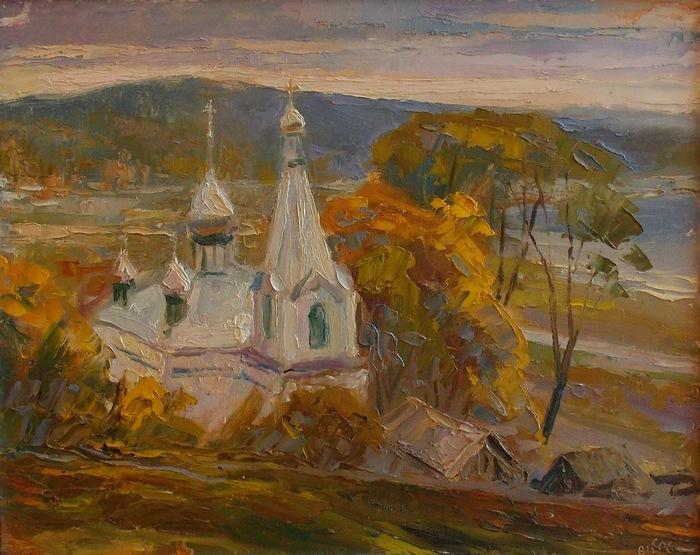В. Крук. Брасловщина. Этюд. 2006 г.