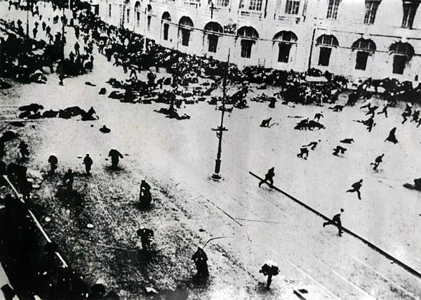 расстрел февральской демонстрации на невском проспекте майдан