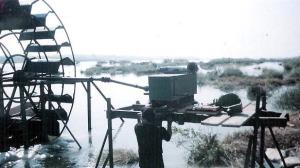 мангал с турбиной