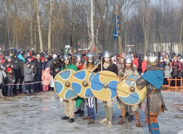Воины готовы к бою! Фото Евгении Москвиной