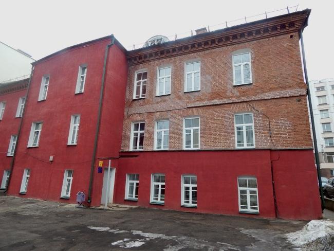 Здание вечерней школы.