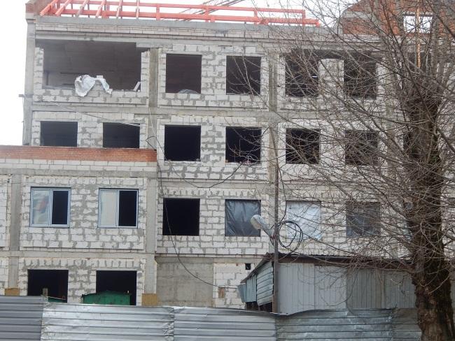 Строительство здания КГБ.