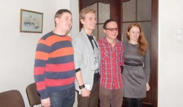 Группа ZnaROCK с преподавателями Мовы-Нановы.
