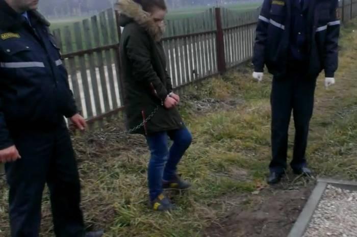 Так разыскивают наркоту. Фото с сайта Минского областного УВД