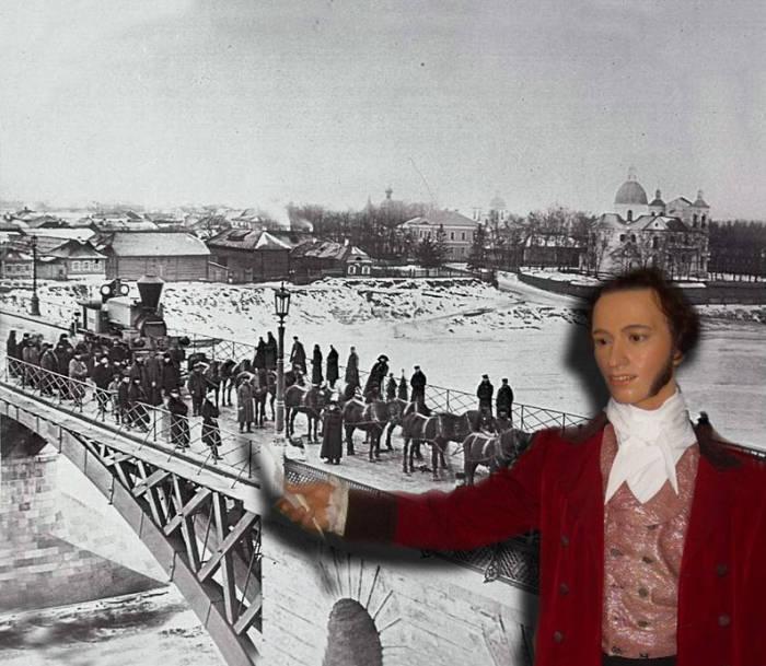 Пушкин паровоз Витебск кировский мост