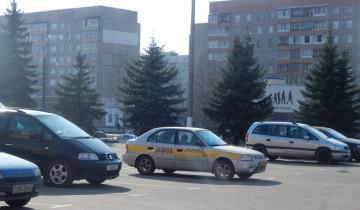 Такси на рынке - не роскошь.
