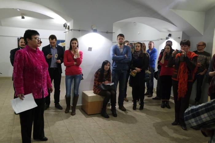 Открытие выставки собрало множество зрителей