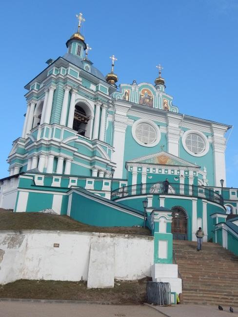 Вот он, символ Смоленска, Успенский собор.