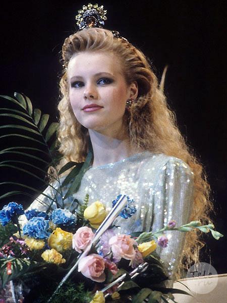 Маша Кежа конкурс 1990 мисс СССР Московский Комосомолец