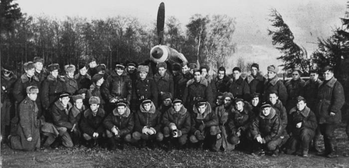 Фото эскадрильи Нормандия  Неман