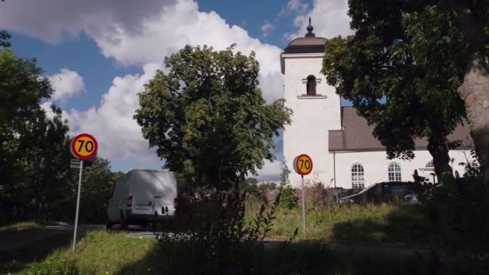 Злода - дорожные знаки Швеция