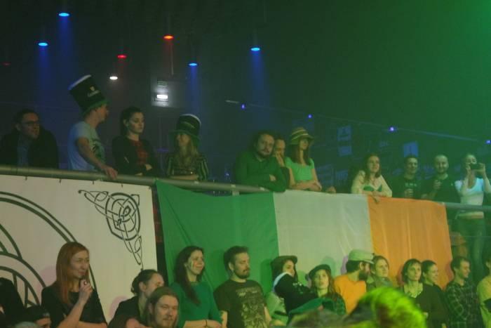 Без ирландского флага здесь никак не обойтись