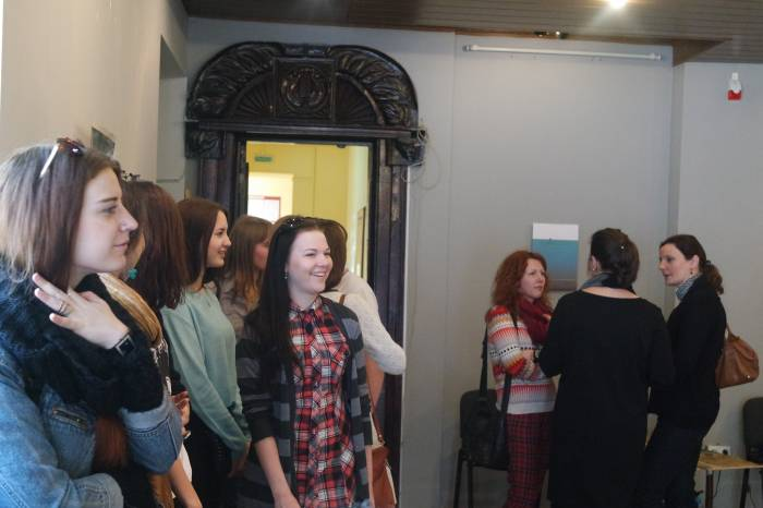 Открытие выставки собрало много зрителей