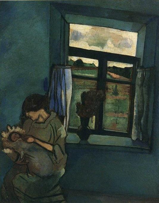 Белла и Ида у окна. Жена Марка Шагала, не задумываясь, посвятила себя мужу. Фото с сайта http://www.marc-chagall.ru/