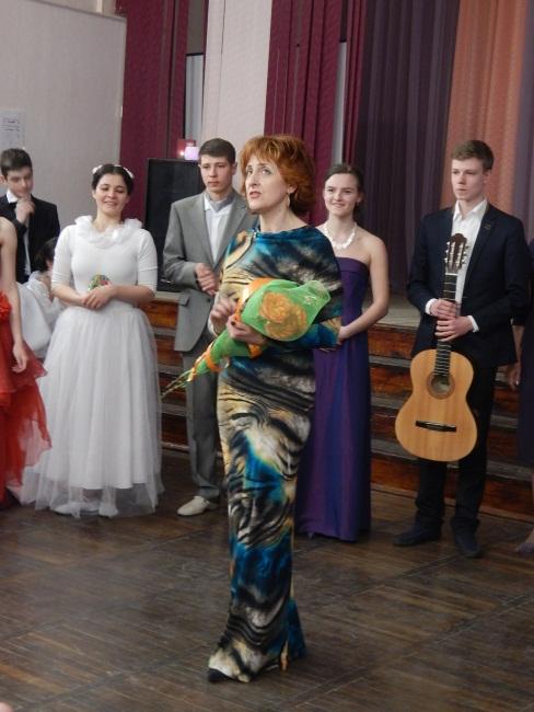 Маргарита Валерьевна с учениками.