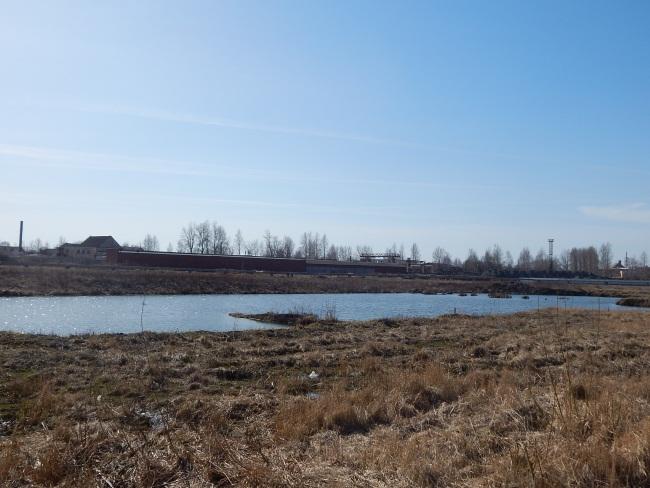 Свалка, озеро, болото.