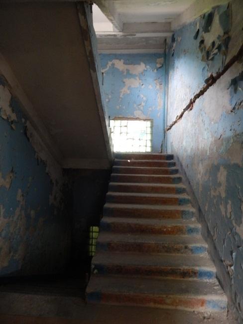 Лестница еще пригодна для подъема.
