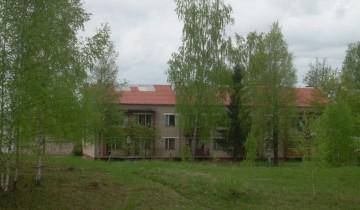 Дом у шоссе находится практически в лесу.