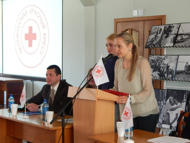 Швейцарские делегаты за здоровый образ жизни.