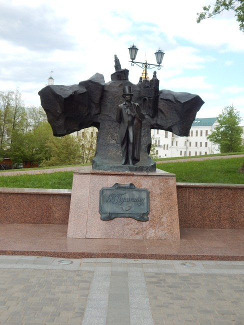 Вот он Пушкин, наше все! Фото Евгения Москвина