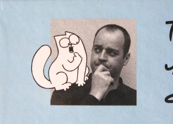 Саймон Тофилд и кот Саймона