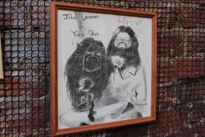 Джон Леннон и Йоко Оно