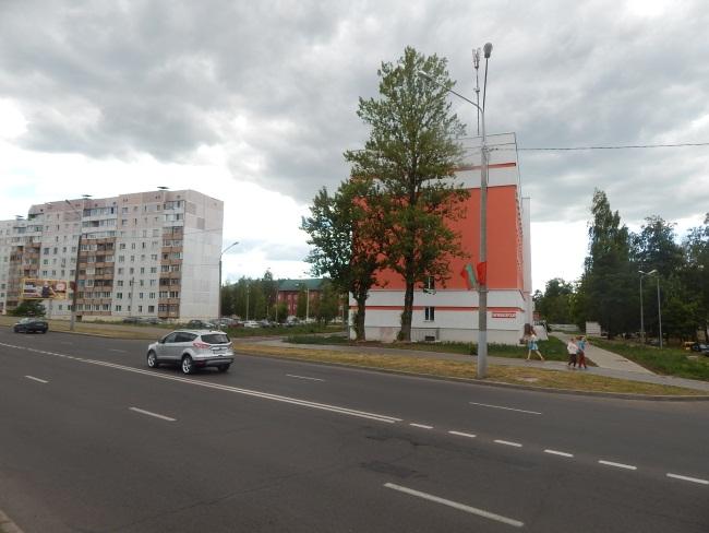 Улица Смоленская, застройка 70-х годов.