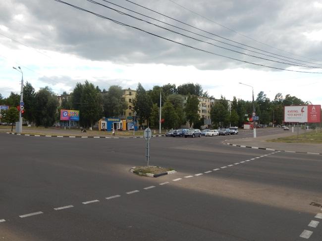 Перекресток улицы Правды и Смоленской.