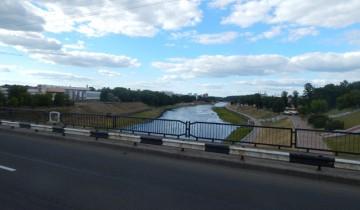 Мост Блохина помнит кровавые бои за Витебск.