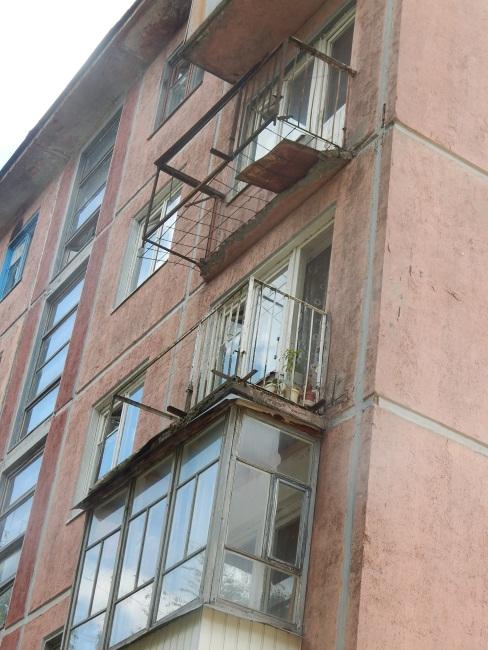 Балкон в стиле Стивена Кинга.