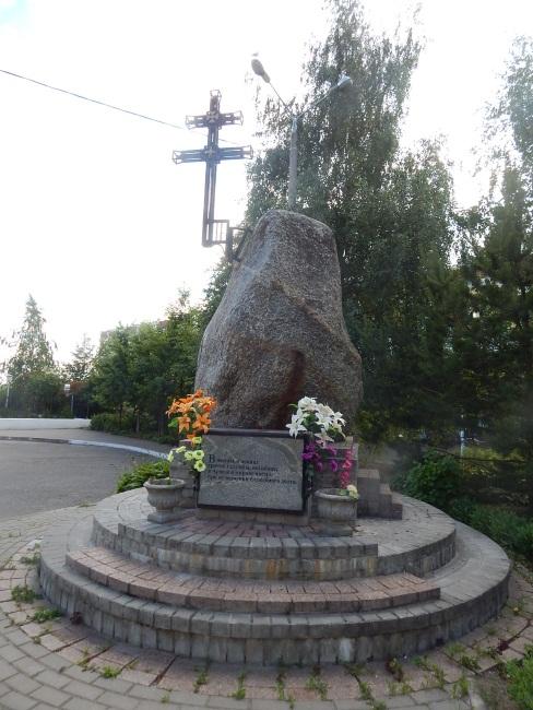 Единственный памятник на проспекте.