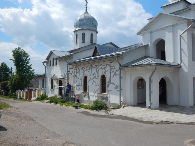 Храм на ремонте.